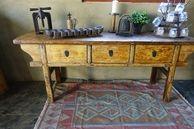 Antique Chinese Alter Table 208 cm L x 50 cm d x 84 cm H