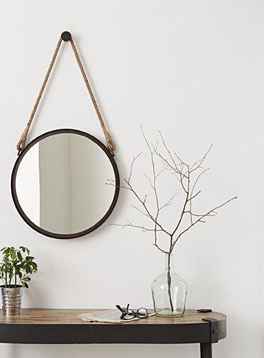 les 25 meilleures id es de la cat gorie miroir de corde sur pinterest miroir nautique d cor. Black Bedroom Furniture Sets. Home Design Ideas