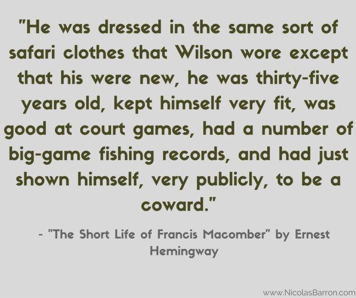 Ernest Hemingway's The Short Happy Life of Francis Macomber: Summary & Analysis