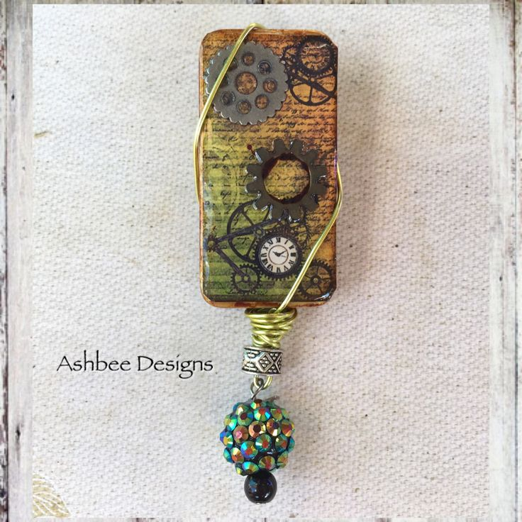 A personal favorite from my Etsy shop https://www.etsy.com/ca/listing/545143365/steampunk-domino-brooch-or-scarf-pin