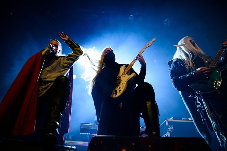 Twilight Force ⚫ Photo from Byscenen FB page ⚫ Trondheim 2016 ⚫ #TwilightForce #music #metal #concert #gig #musician #Lynd #Aerendir #Chrileon #singer #vocalist #frontman #guitarist #guitar #ninja #mask #bracers #elf #tabard #playing #armour #armor #leather #blond #longhair #cape #microphone #singing #photo #fantasy #magic #cosplay #larp #man #onstage #live #show #celebrity #band #artist #performing #Sweden #Swedish #Trondheim #Byscenen #Norway