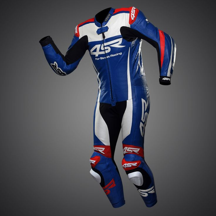 4SR one-piece racing suit Racing Replica Seeley. This Racing Replica Seeley suits colour scheme was originally designed for Alastair Seeley in the Tyco BMW, BSB British Superbike Championship & North West 200. And now it can be yours.