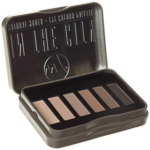 W7 COSMETICS In The City Natural Nudes Eye Shadow Palette -  Net Wt. 0.24 oz / 7g