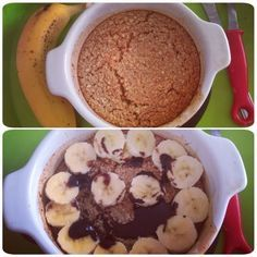 Slimming Eve: Slimming world baked oats.