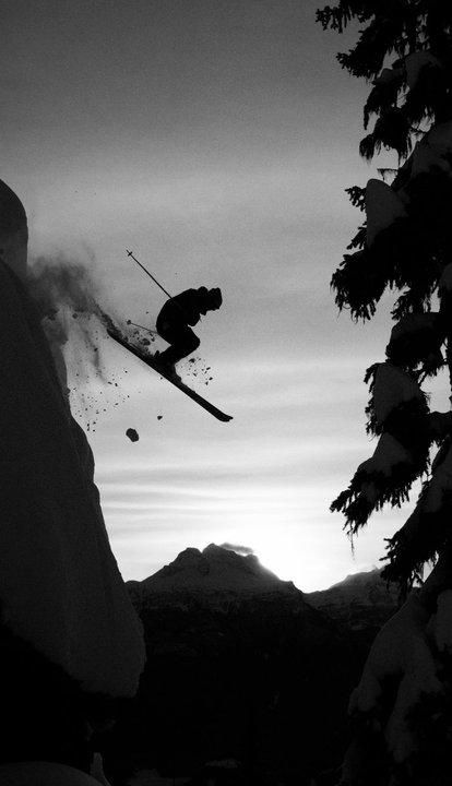 Revelstoke, BC -- Skier: Josh Daiek