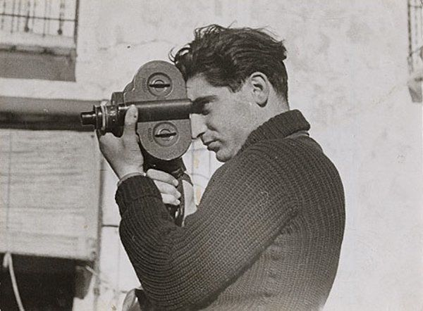 Lessons from the Masters:  Robert Capa and Jerry Uelsmann Capa by Gerda Taro.jpg