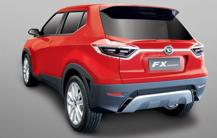 Daihatsu FX SUV concept revealed for Asia: Toyota badge possible ...