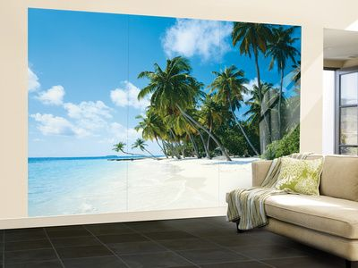 Tropical Palms Huge Wall Mural Poster Print Part 86