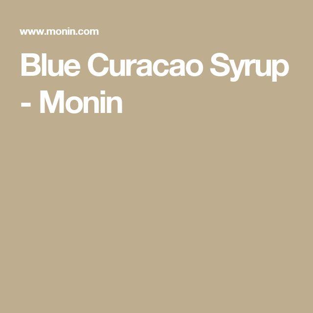 Blue Curacao Syrup - Monin