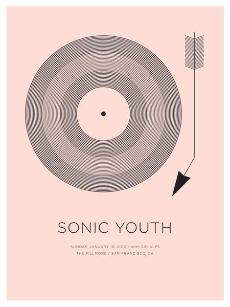 Sonic Youth - Sic Alps #design #poster