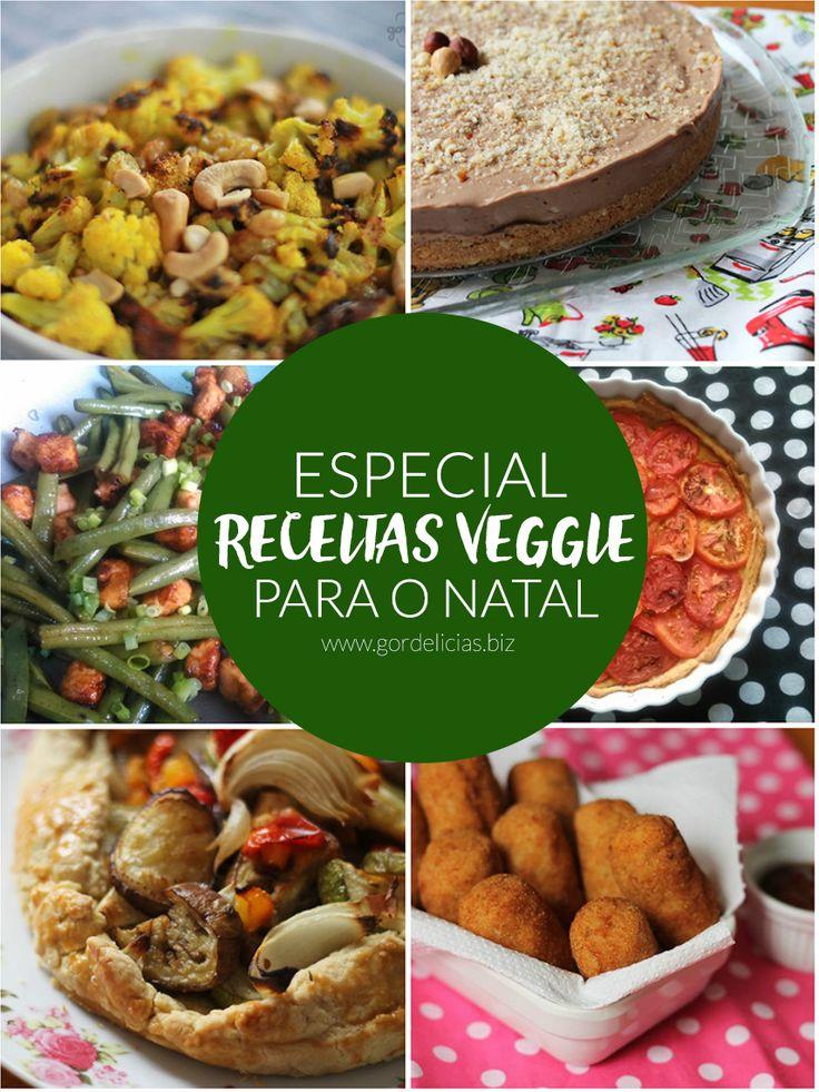 Quem disse que ceia de Natal não pode ser vegetariana? Lá no blog tem uma seleção de receitas deliciosas para montar um cardápio veggie incrível.