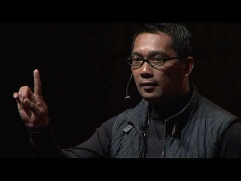 Ridwan Kamil is among the biggest names in modern Indonesian architecture. As an architect with a love for green, he uses creative design such as maximizing pedestrian walkways to solve urban issues. He is famously known as the designer of Aceh's tsunami museum and Rasuna Epicentrum (Jakarta). His house was made from 30,000 used Red Bull bottles...