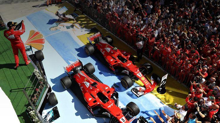Как гонщики лидирующих команд оформили отношения на Гран-при Венгрии — Репортаж — Motor