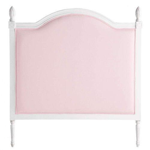 Cabecero de cama infantil rosa