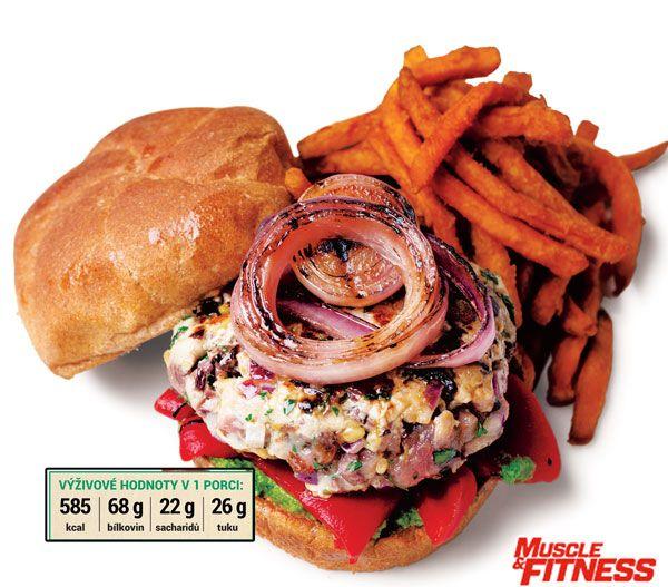 Tuňákový hamburger Zapomeňte na stereotyp tuňáka z konzervy a potěšte se bohatým a chutným tuňákovým hamburgerem z čerstvého rybího masa. Žádný jiný hamburger vám nepomůže budovat svaly a zároveň rýsovat!