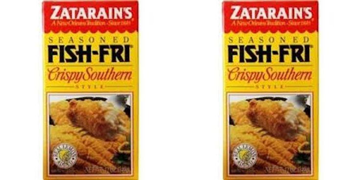 Details about cajun king butter pecan mix 2 lot recipe new for Zatarain s fish fri