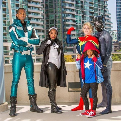 💥Ultimate problems require Ultimate solutions.💥 Blue Marvel, Monica Rambeau, Ms America Chavez, Captain Marvel and Black Panther. Get The Ultimates comics here [Follow SuperheroesInColor faceb /...