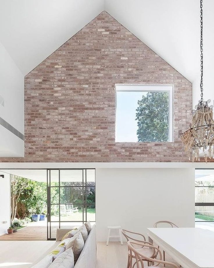 Recycled Brick Feature Wall