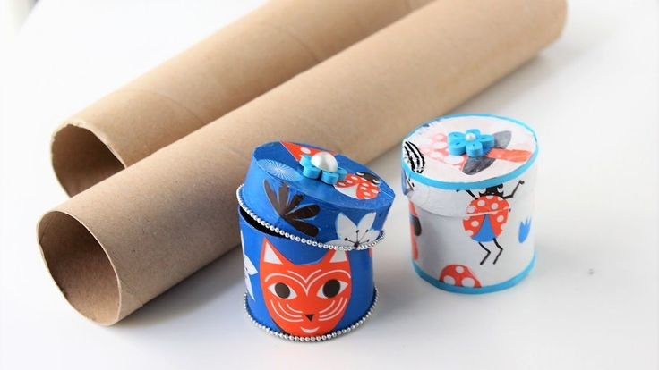242 best rollos toilet paper rolls diy images for Toilet paper roll jewelry box