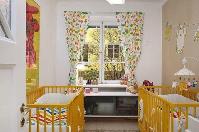 DORMITORIOS: decorar dormitorios fotos de habitaciones recámaras diseño y decoración: DORMITORIOS PARA BEBES GEMELOS O MELLIZOS