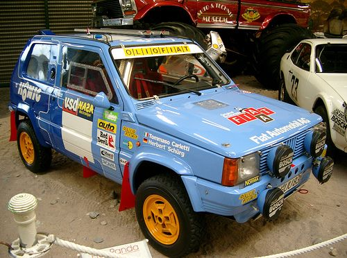 84 best fiat panda classic images on pinterest fiat for Panda 4x4 sisley off road