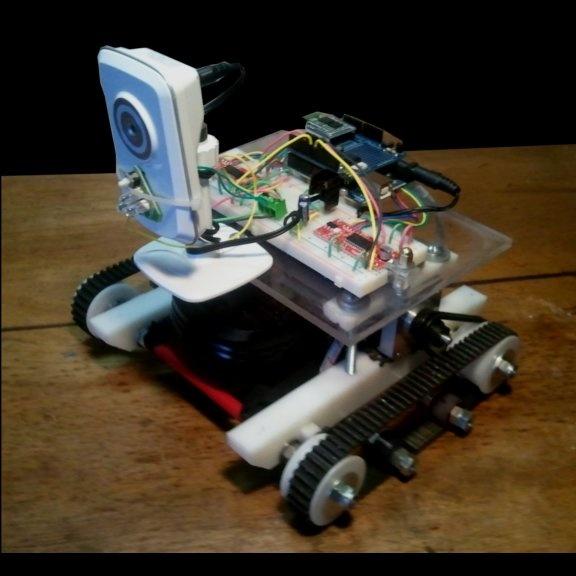 Arduino Uno Atmega328 Microcontroller Based Robot