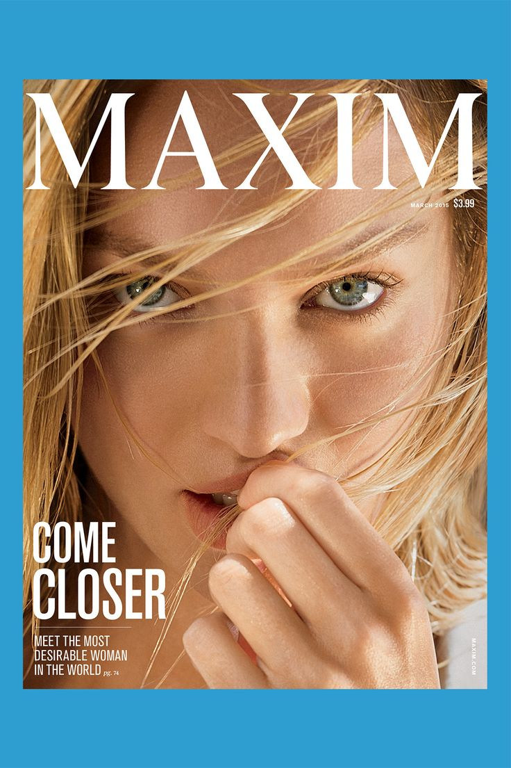 New Maxim, such a sexy cover. Thank you Kate L.