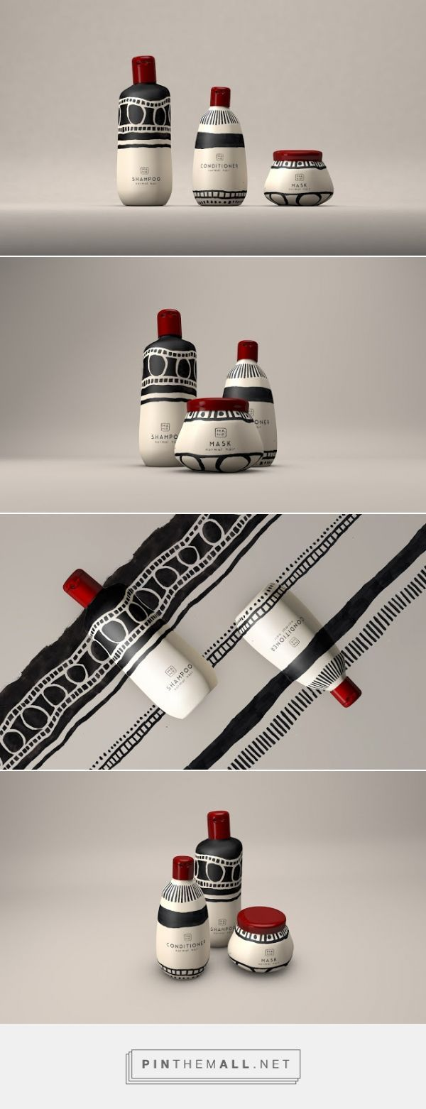 Tribal Mane Hair Products packaging designed by Natalia Triantafylli – www.packagingofth… – Dieter Hartmann