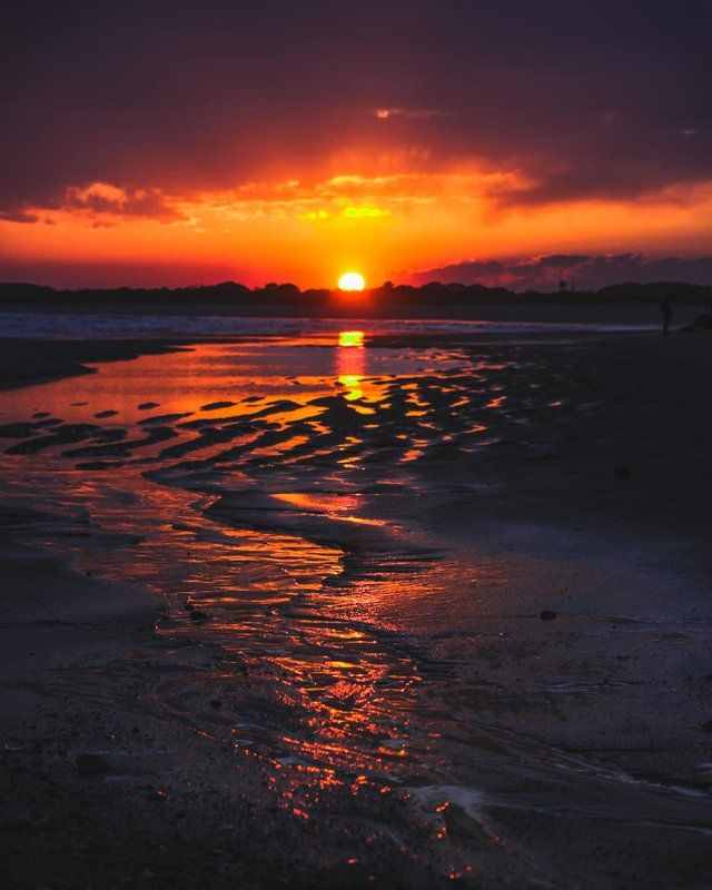 Tidepools Reflecting A Sunset In Cape May New Jersey Oc 1789x2236 Ig James Films Earthporn Nature Photography Learn Digital Photography Sunset