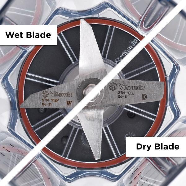 how to clean vitamix blades