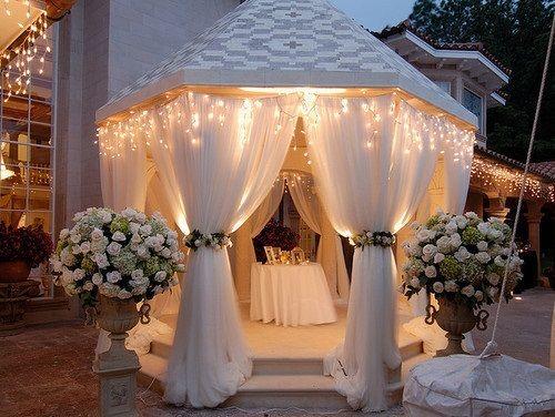 319 best images about Wedding Gazebos on Pinterest | Wedding ...