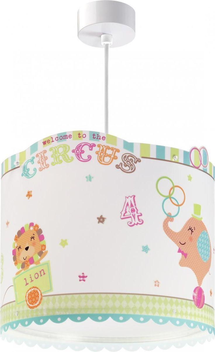 Circus παιδικό φωτιστικό οροφής με διαχυτή φωτός