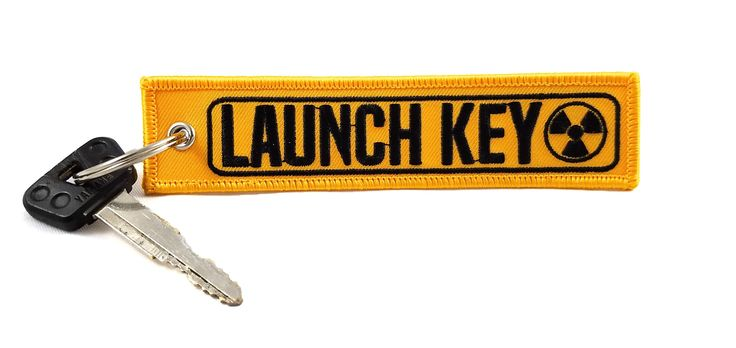 CG Keytags - Unique Key Chains for Motorcycles, Scooters, Cars, Gifts, and More (Launch Key)