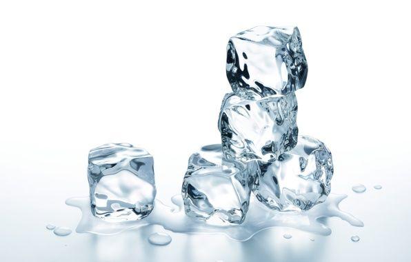 Обои картинки фото кубики льда, лед, вода, ice, ice, water