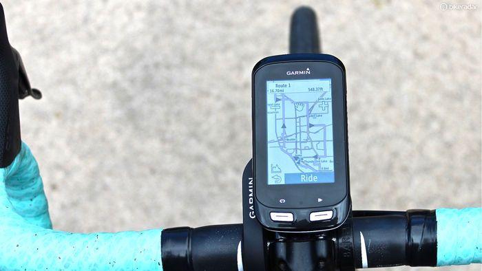 Garmin Edge 1000   first ride