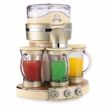 3-Jar Frozen Drink Maker Margarita Machine Daiquiri Colada Smoothie Ice Blender