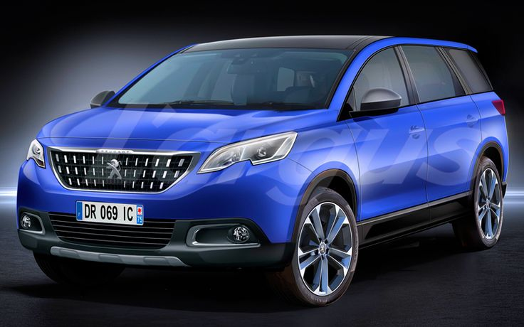 2016 Peugeot 6008 7-Seat Crossover