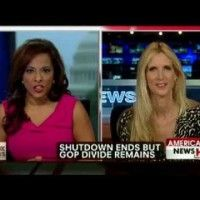 Ann Coulter; How do conservatives make peace with moderate Republicans