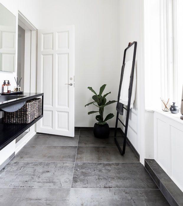 Billedresultat for store klinker badeværelse