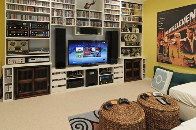 Use Shelves Smartly - 47+ Epic Video Game Room Decoration Ideas…