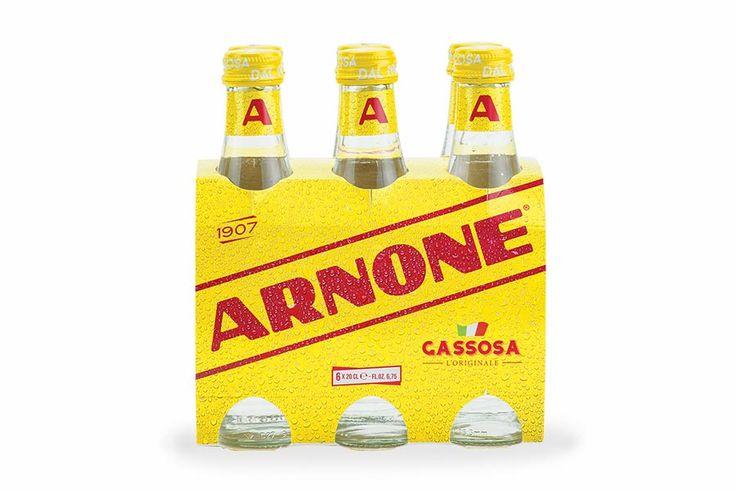 Gassosa L'Originale Arnone, La storica gassosa Arnone, apprezzata sin dalle origini, adesso anche in confezione da 6 bottiglie in vetro da 200 ml.