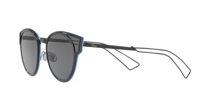 Dior SCULPT 63 Grey & Black Sunglasses | Sunglass Hut USA