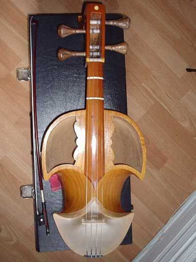 Central Asian musical instruments