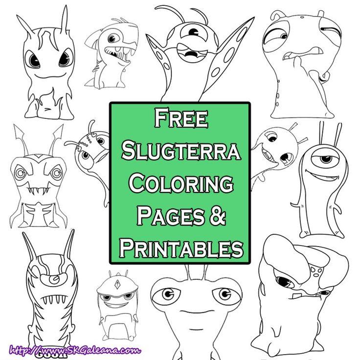 Slugterra Coloring Pages SKGaleana