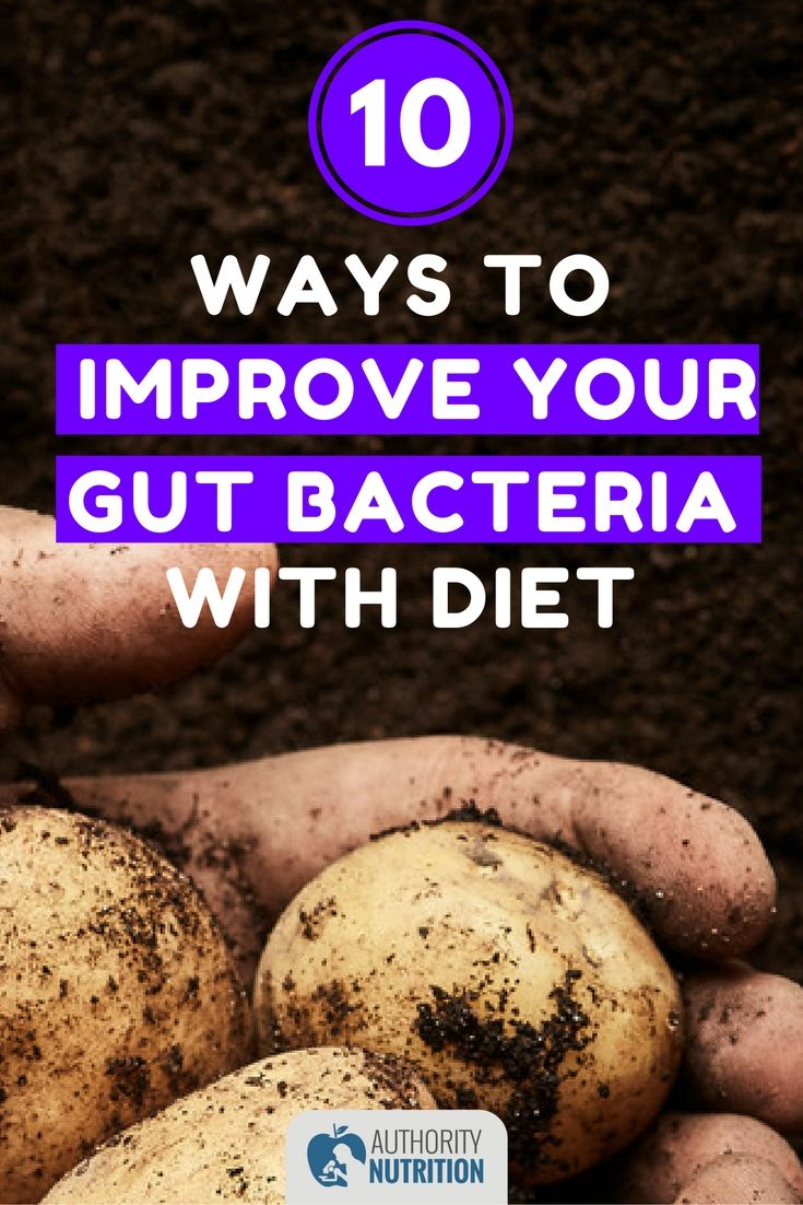 The bacteria in your gut are incredibly important for your health and weight. Here are 10 ways to improve your gut bacteria with diet: https://authoritynutrition.com/improve-gut-bacteria/