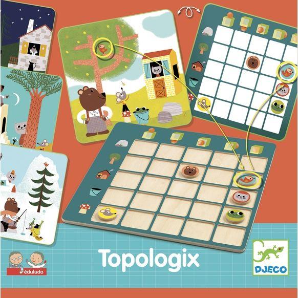 'Topologix -logikai játék ovisoknak Djeco | Pandatanoda.hu Játék webáruház