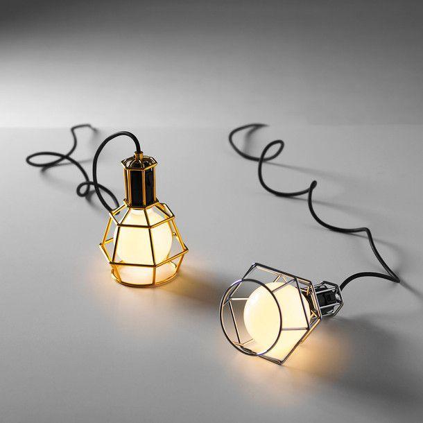 Fab.com   Work Lamp Gold