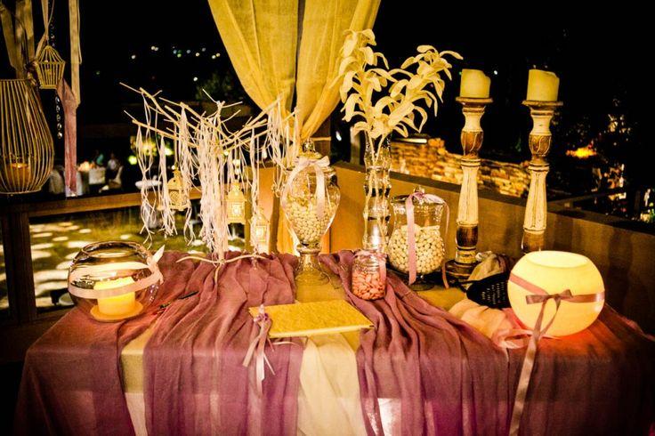 Τραπέζι ευχών γάμου