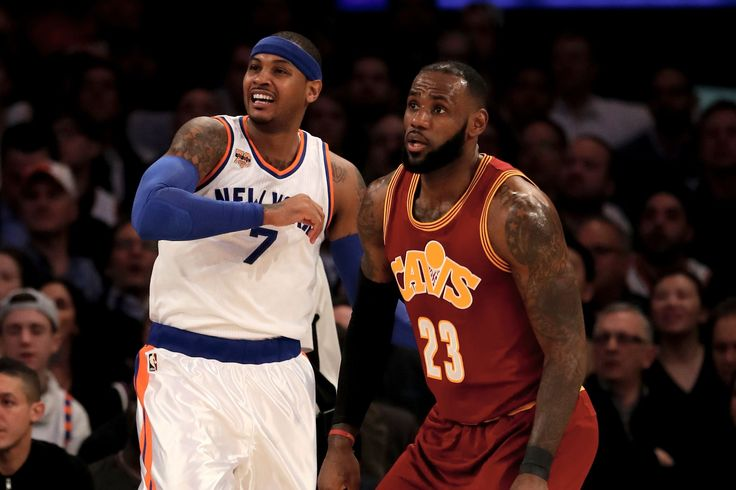 Cavs, Thunder(!) on the Table for Carmelo Anthony - The Ringer