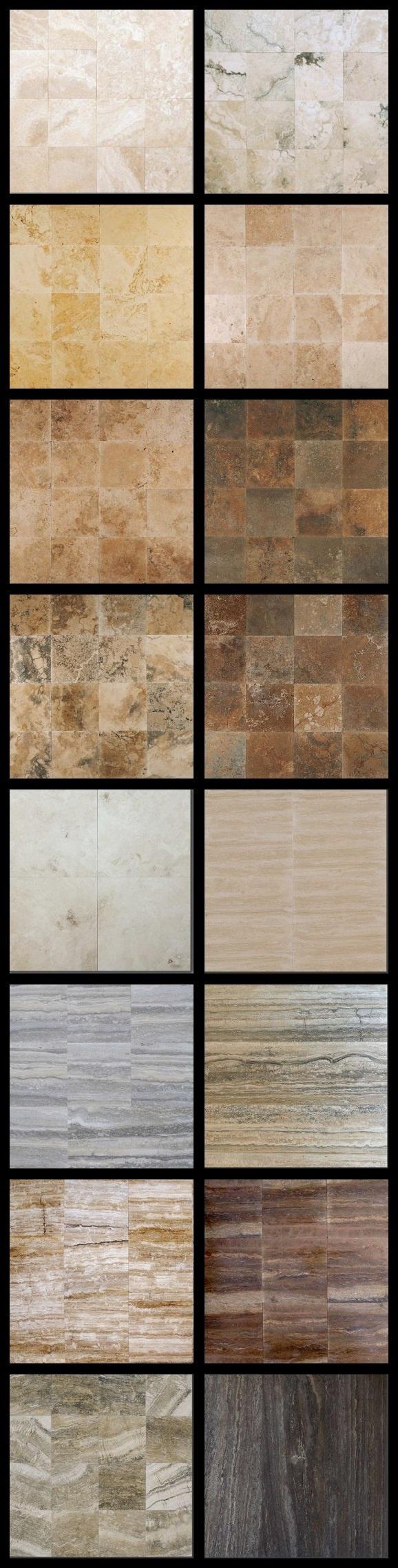 Le selezioni disponibili alle Pietre di Rapolano per #pavimenti e #rivestimenti    www.pietredirapolano.com